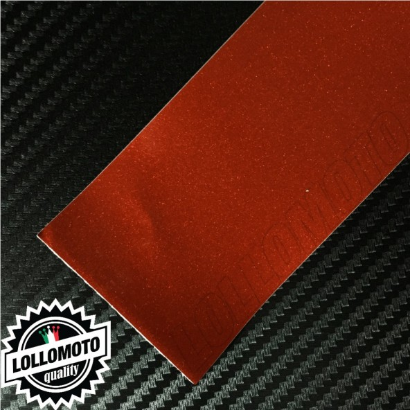 Candy Red Lucido Pellicola Cast Professionale Adesiva