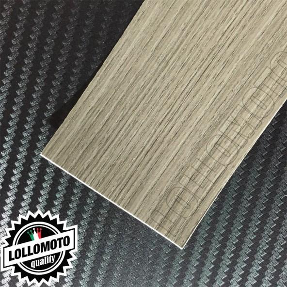Legno Pino Grigio Scuro 3D Pellicola APA® APA® Professionale Adesiva Rivestimento Car Wrapping