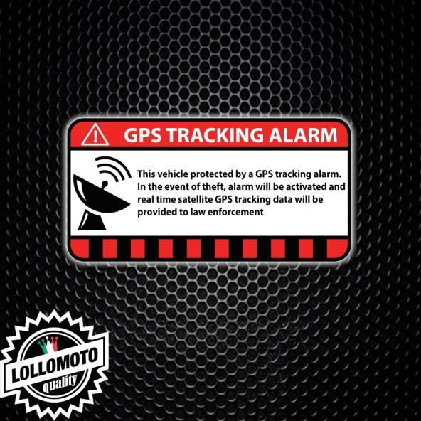 2 Adesivi Antifurto Gps Tracking Auto Stickers Decal