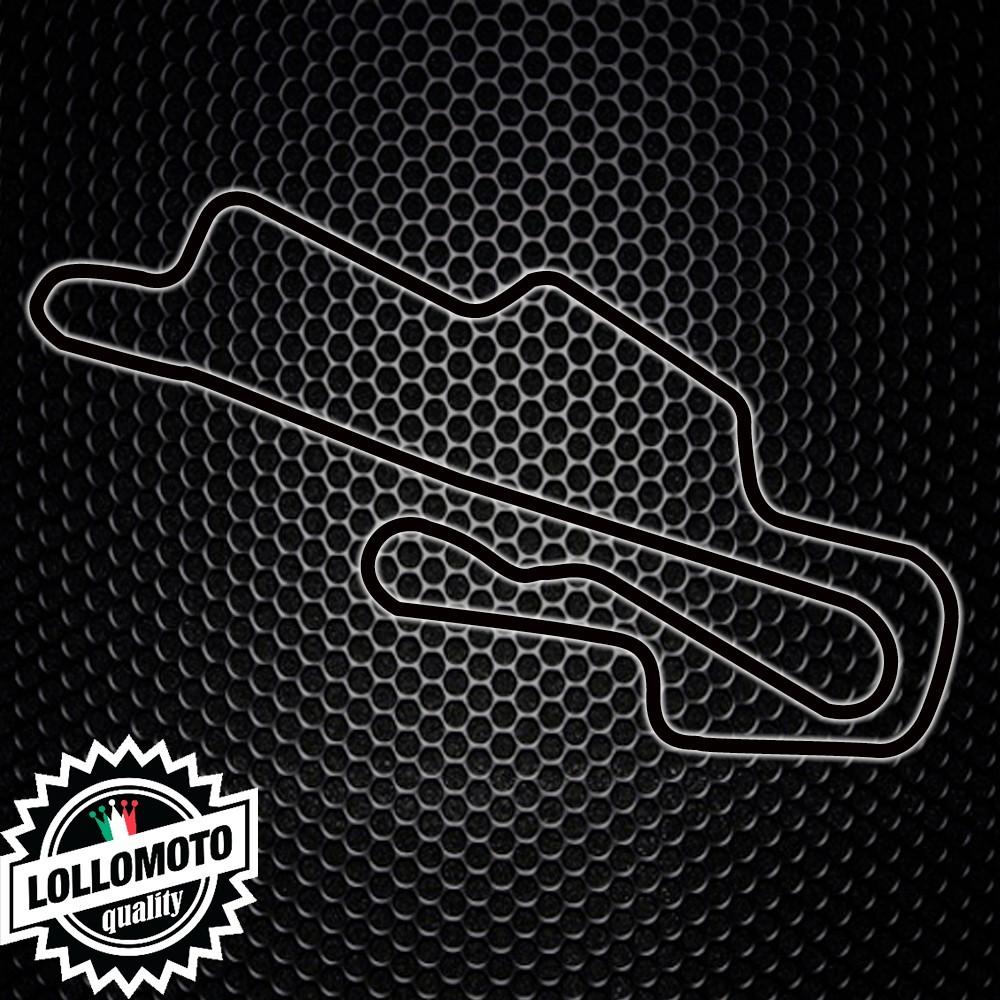 Adesivo Stickers Circuito Pista Mugello Auto e Moto Decal