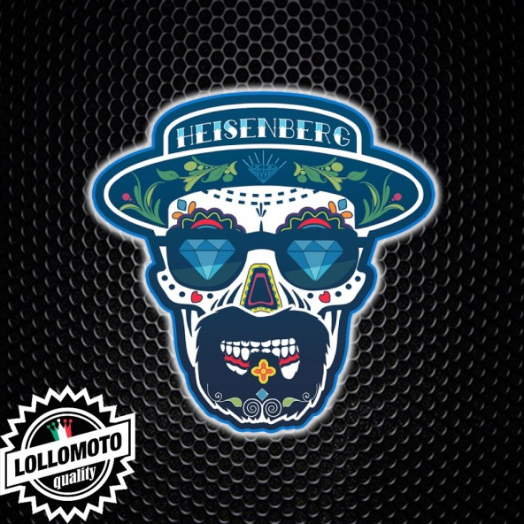 Adesivo Breaking Bad Heisenberg Skull Mexican Teschio Messicano Auto Stickers Decal JDM