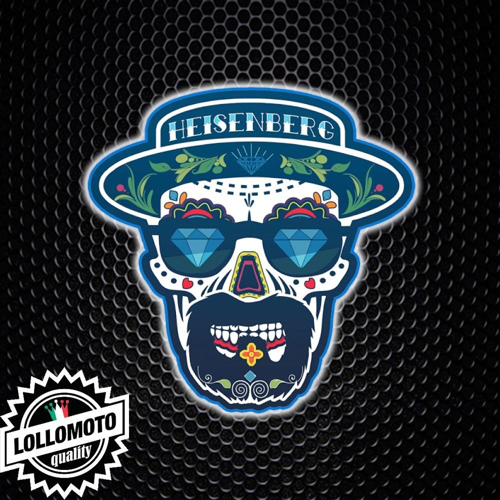Adesivo Breaking Bad Heisenberg Skull Mexican Teschio Messicano