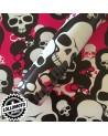 Sticker Bomb Mimetico Teschi Rosa Pellicola Car Wrapping