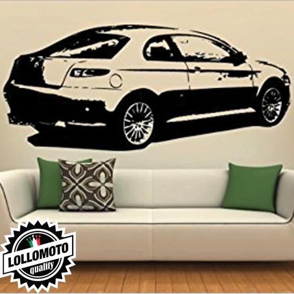 Alfa Romeo GT Wall Stickers Adesivo Murale Arredamento da Muro Interior Design
