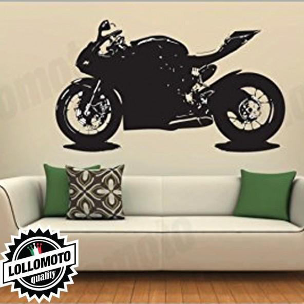 Ducati Panigale Wall Stickers Adesivo Murale Arredamento da Muro Interior Design