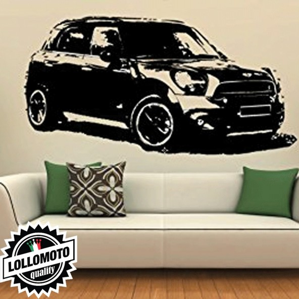 Mini Countryman Wall Stickers Adesivo Murale Arredamento da Muro Interior Design