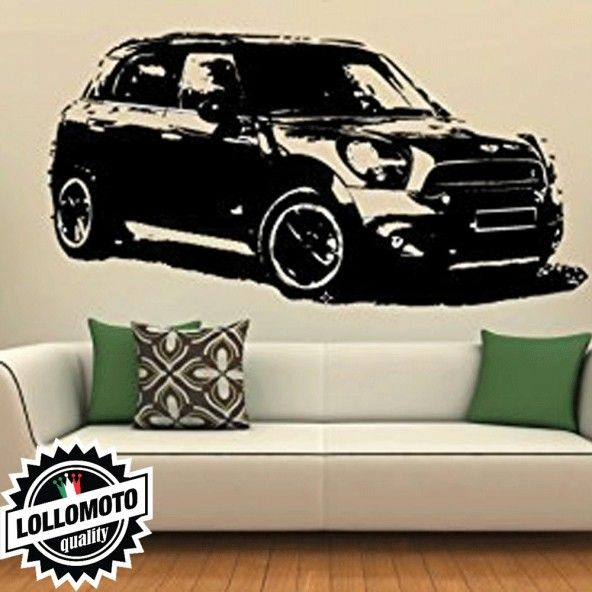 Mini Countryman Wall Stickers Adesivo Murale Arredamento da