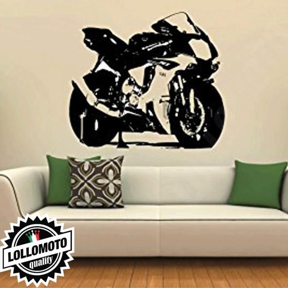 Yamaha R1 Wall Stickers Adesivo Murale Arredamento da Muro Interior Design