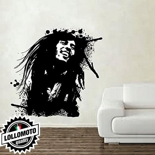 Bob Marley Wall Stickers Adesivo Murale Arredamento da Muro Interior Design