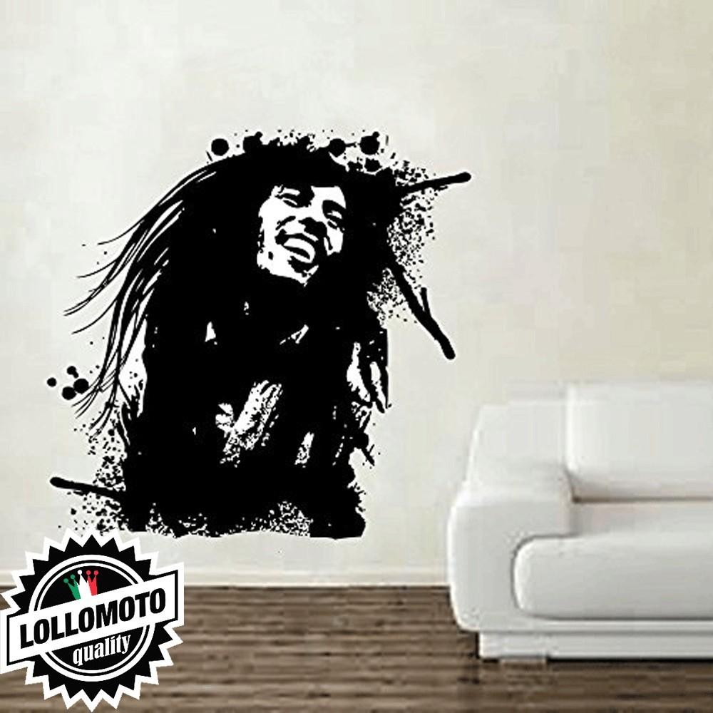 Bob Marley Wall Stickers Adesivo Murale Arredamento da Muro