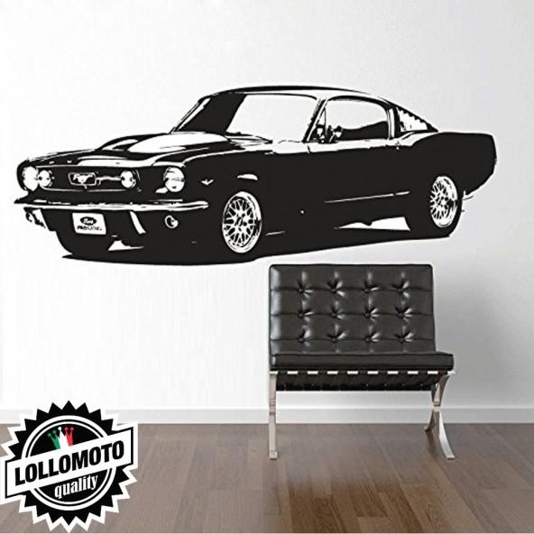 """Ford Mustang """"67 Wall Stickers Adesivo Murale Arredamento da Muro Interior Design"""