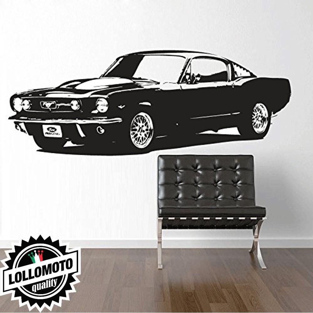 """Ford Mustang """"67 Wall Stickers Adesivo Murale Arredamento da"""