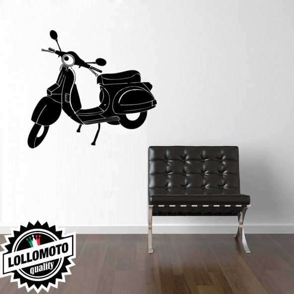 Vespa 50 Special Wall Stickers Adesivo Murale Arredamento da Muro Interior Design
