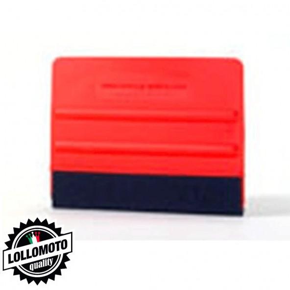 Avery Spatola Professional Flexible Rossa Plastica e Feltro Ultraflessibile Installazione Pellicole Car Wrapping