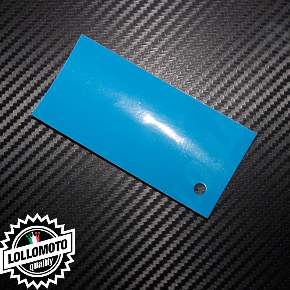 Pellicola Wrapping Arredamento Azzurro Lucido Interni Interior