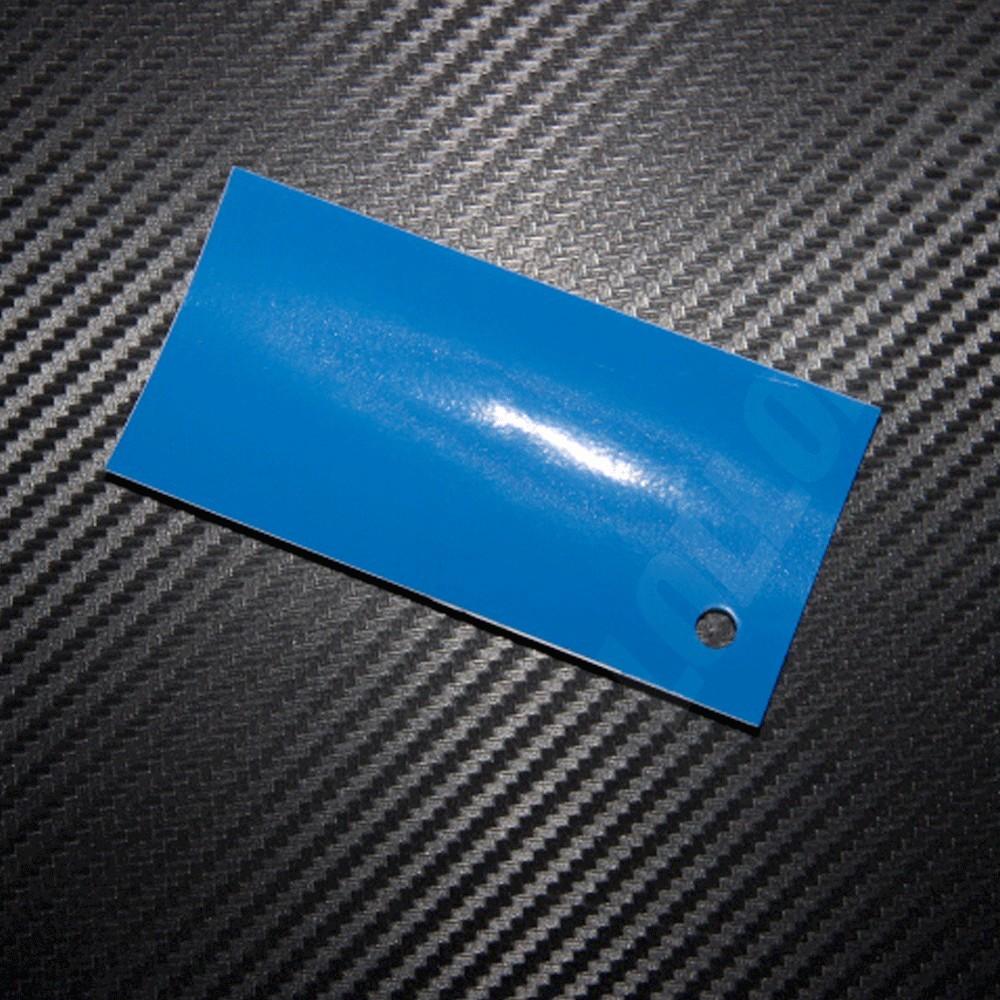 Pellicola Wrapping Arredamento Blu Lucido Interni Interior