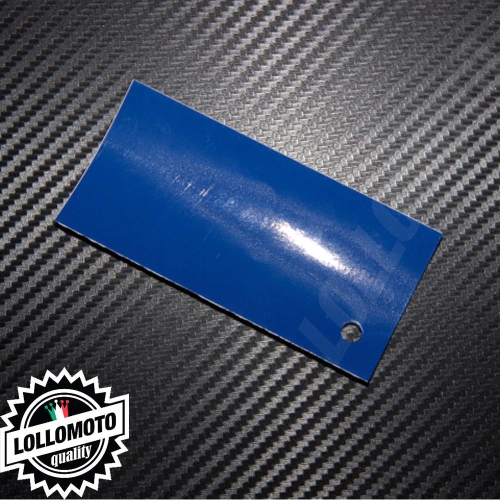 Pellicola Wrapping Arredamento Blu Scuro Lucido Interni