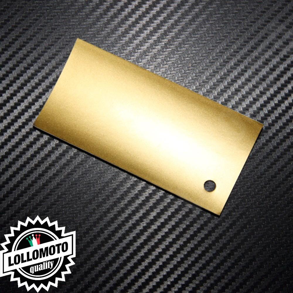 Pellicola Wrapping Arredamento Oro Opaco Interni Interior