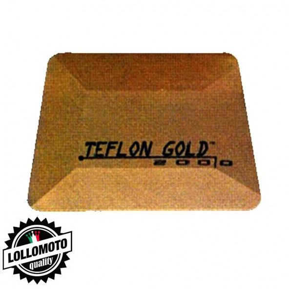 Spatola Teflon Gold Intermedia 105x75mm per Oscuramento Vetri