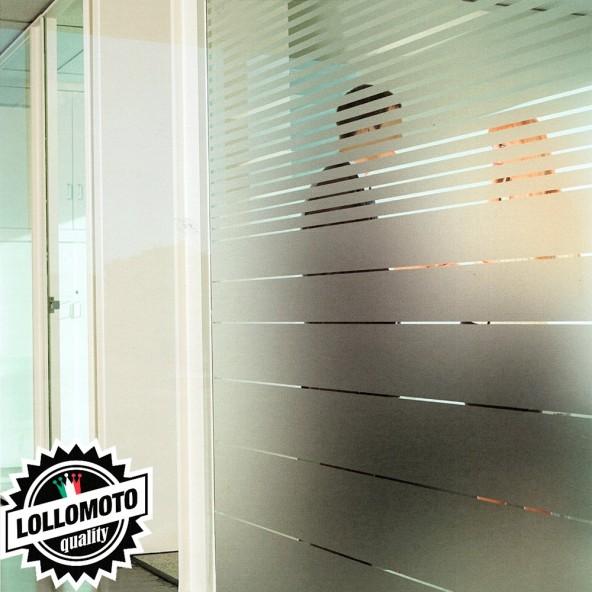 Pellicola Vetri Satinata Opaca Privacy Arredamento Vetrate Casa