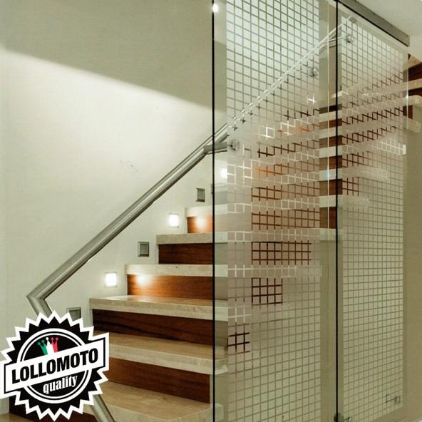Pellicola Vetri Satinata Opaca Privacy Arredamento Vetrate Casa Ufficio Interni Interior Design Wrapping