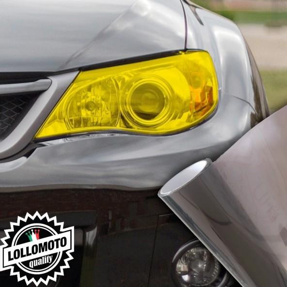 Pellicola Fanali Nero Fumè Car Wrapping Oscuramento Fari Auto Tuning
