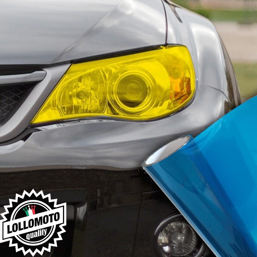 Pellicola Fanali Blu Car Wrapping Oscuramento Fari Auto Tuning
