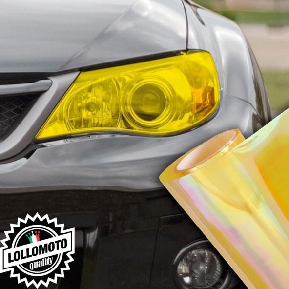 Pellicola Fanali Camaleontica Gialla Car Wrapping Oscuramento Fari Auto Tuning