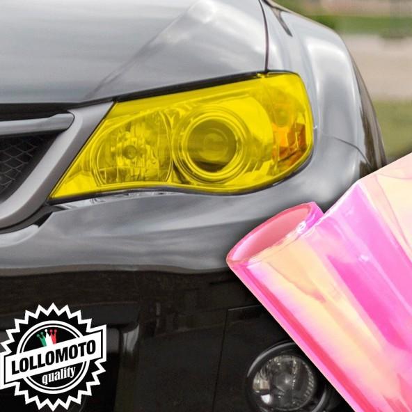 Pellicola Fanali Camaleontica Rosa Car Wrapping Oscuramento Fari Auto Tuning