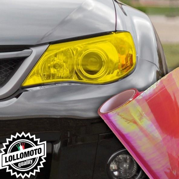 Pellicola Fanali Camaleontica Rossa Car Wrapping Oscuramento Fari Auto Tuning