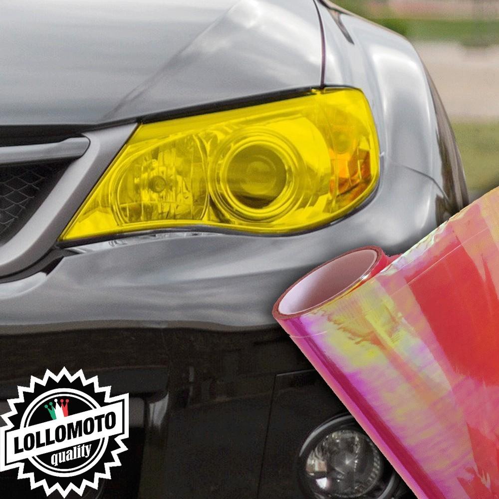 Pellicola Fanali Camaleontica Rossa Car Wrapping Oscuramento
