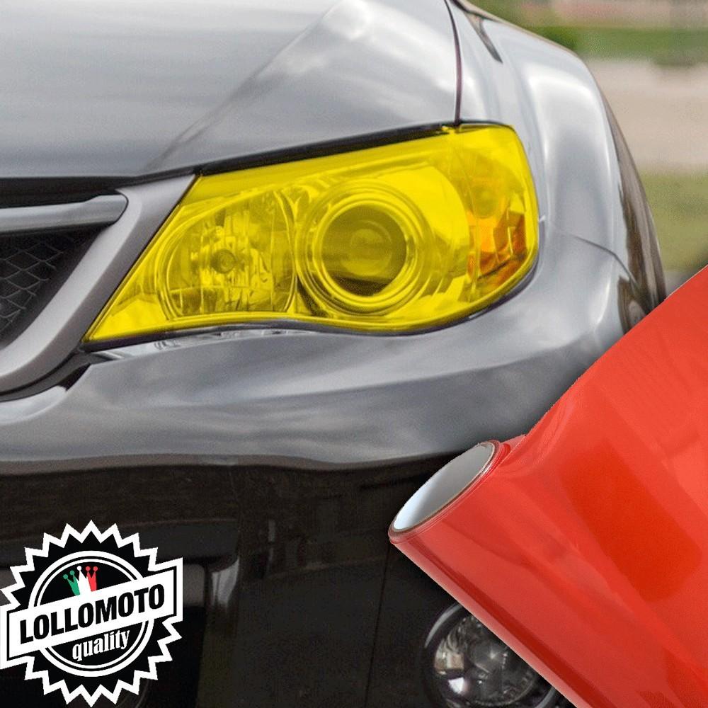 Pellicola Fanali Rosso Car Wrapping Oscuramento Fari Auto Tuning
