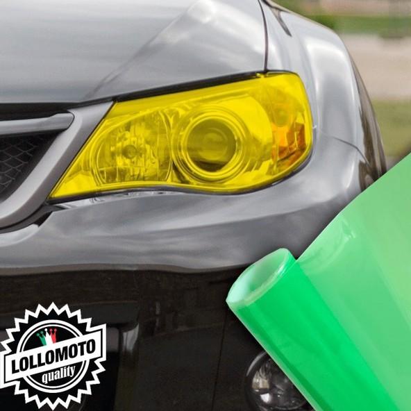 Pellicola Fanali Verde Car Wrapping Oscuramento Fari Auto Tuning