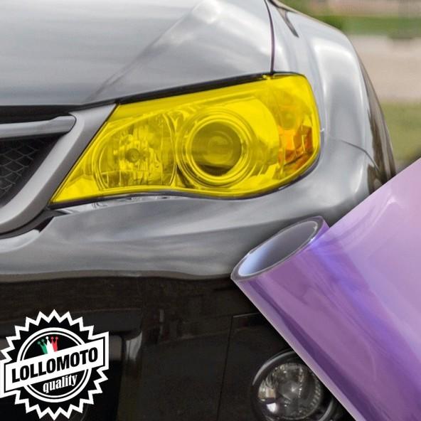 Pellicola Fanali Viola Car Wrapping Oscuramento Fari Auto Tuning