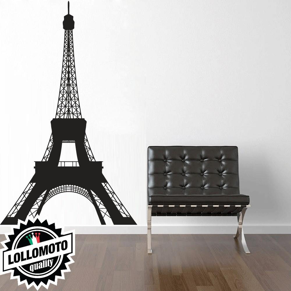 Tour Eiffel Francia Wall Stickers Adesivo Murale Arredamento da