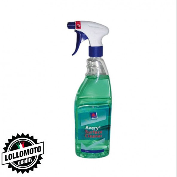 Avery Surface Cleaner Detergente Alte Prestazioni. Indispensabile nella Fase Preparatoria dell'Installazione di Car Wrapping. Ri
