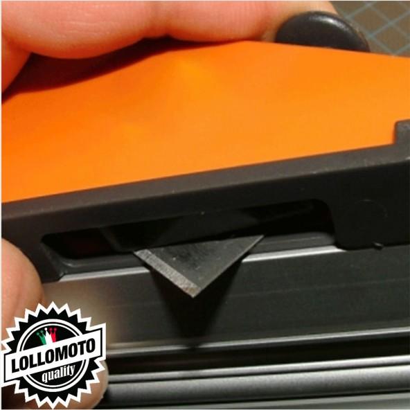 Pellicola Adesiva Stickers Bomb Teschi Skull in Bianco e Nero Car Wrapping Auto Moto Camper Camion Tuning