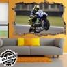 Valentino Rossi Yamaha VR46 Wall Stickers Adesivo Murale