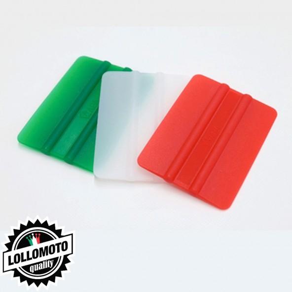 Kit 3 Spatole Italia Professionali Car Wrapping Oscuramento Vetri Applicazione Adesivi