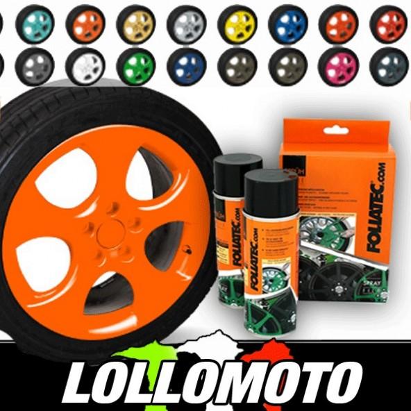 Arancione Fluo Bomboletta Spray Foliatec Vernice Rimovibile
