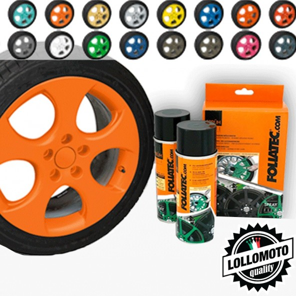 Arancione Opaco Bomboletta Spray Foliatec Vernice Rimovibile Pellicola Wrapping