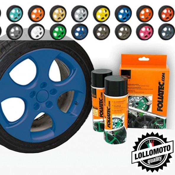 Blu Opaco Bomboletta Spray Foliatec Vernice Rimovibile Pellicola Wrapping
