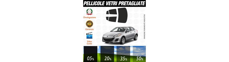 Pellicole Oscuranti Per Mazda 3 Berlina dal 2010 ad OGGI Pre Tagliate a Misura Oscuramento Vetri