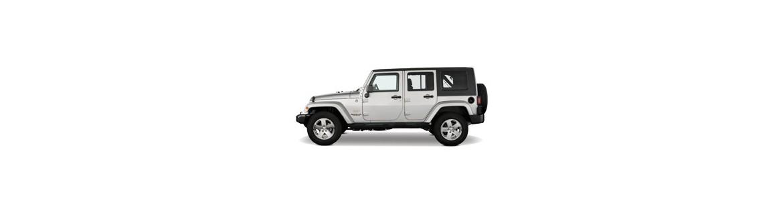 Pellicole Oscuranti Per Jeep Wrangler 4P dal 2007 al 2010 Pre Tagliate a Misura Oscuramento Vetri