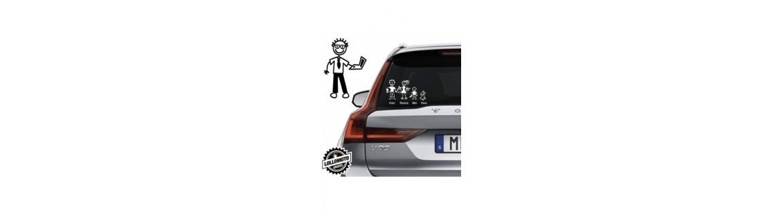 Acquista Adesivi Famiglia Stickers Family Papà
