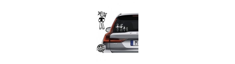 Acquista Adesivi Famiglia Stickers Family Mamma