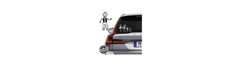 Acquista Adesivi Famiglia Stickers Family Nonno