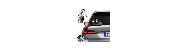 Acquista Adesivi Famiglia Stickers Family Ragazzo