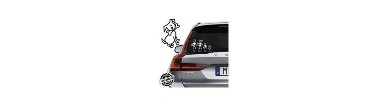 Acquista Adesivi Famiglia Stickers Family Animali