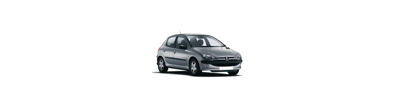 Pellicole Oscuranti Per Peugeot 206 5P dal 1999 al 2010 Pre Tagliate a Misura Oscuramento Vetri
